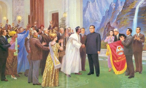All the People of the World Praising Kim Il Sung