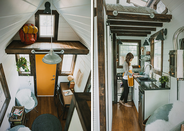 Custom Tiny Home by Heirloom4