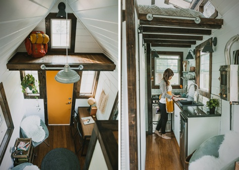 Custom Tiny Home by Heirloom4