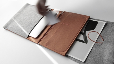 Felt Case for iPad:MacBook Air by 11