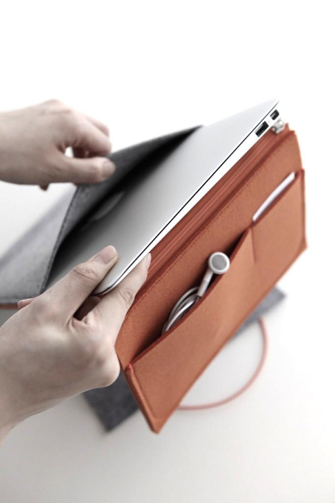 Felt Case for iPad:MacBook Air
