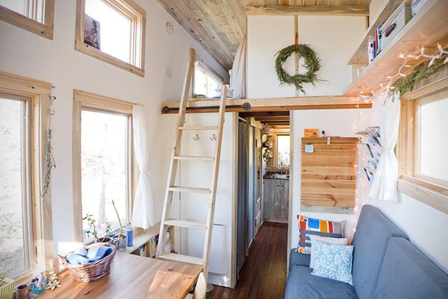 Hand Built Tiny Home by Alek Lisefski