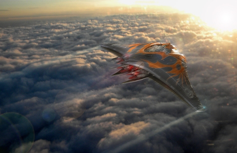 Mantaray Spaceship