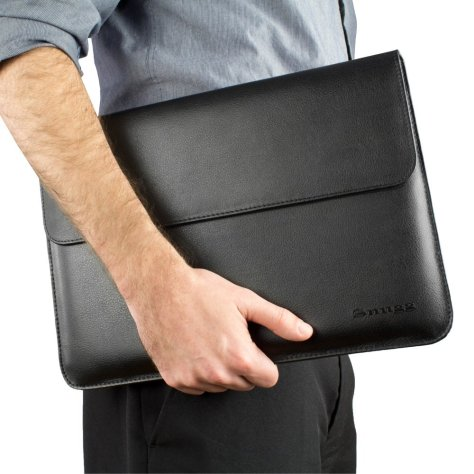 Snugg MacBook Leather Sleeve Case