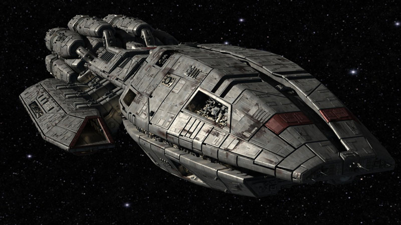 Space Travel 20 Beautiful Fictional Spaceship Designs