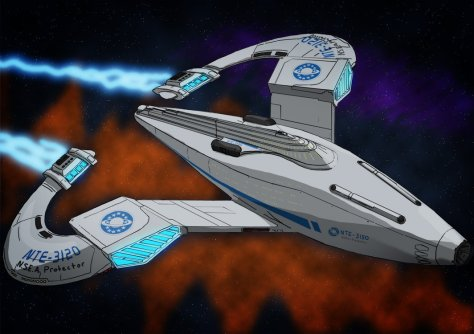 The NSEA Protector from Galaxy Quest