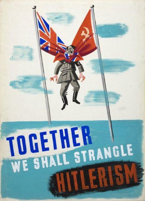 Together We Shall Strangle Hitlerism