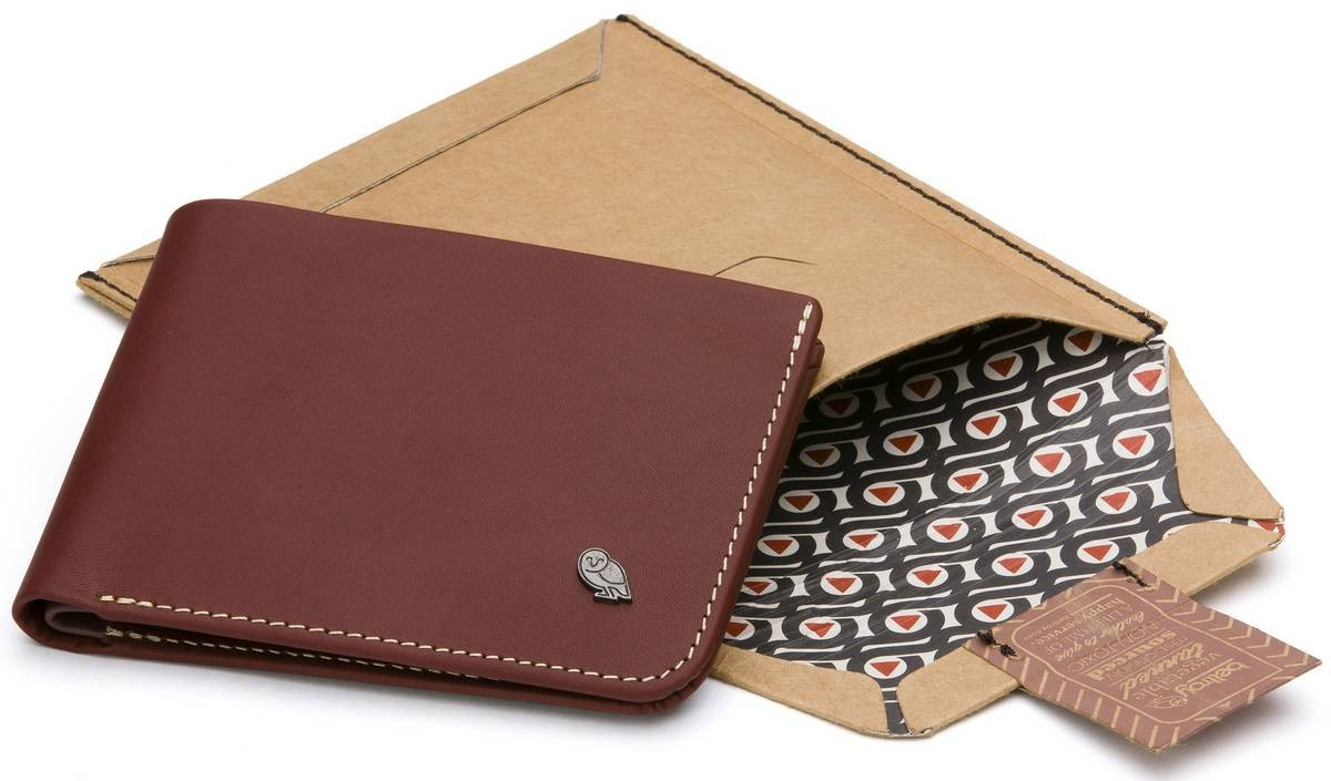 Bellroy Men's Leather Hide & Seek Wallet
