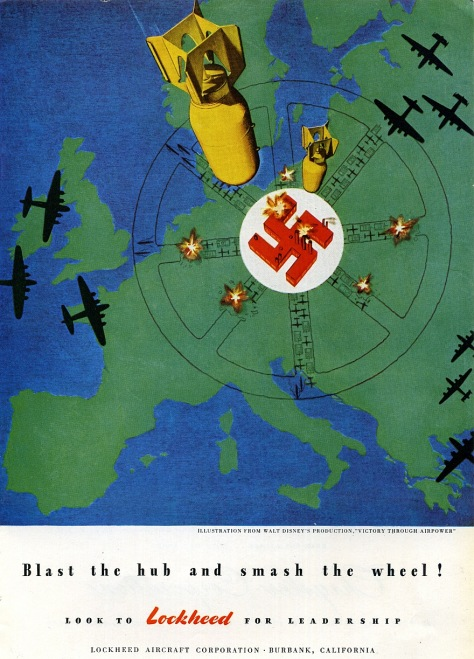 Blast the hub and smash the wheel! (1944)