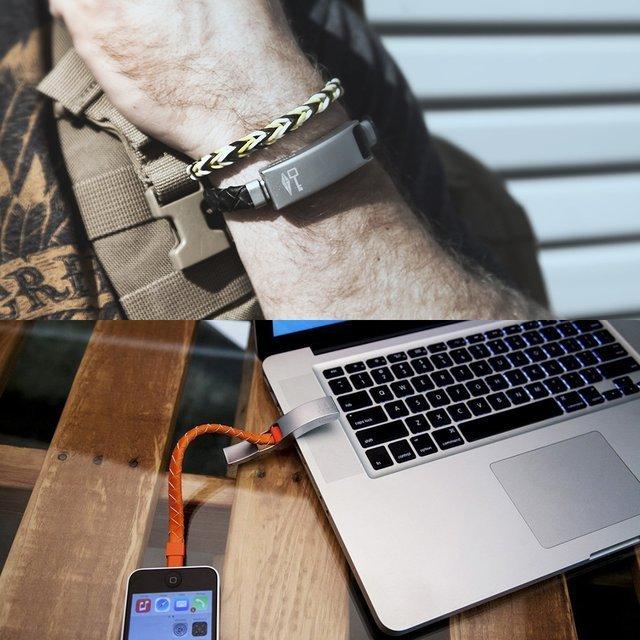 Cabelet Charging Bracelet by Kyte&Key