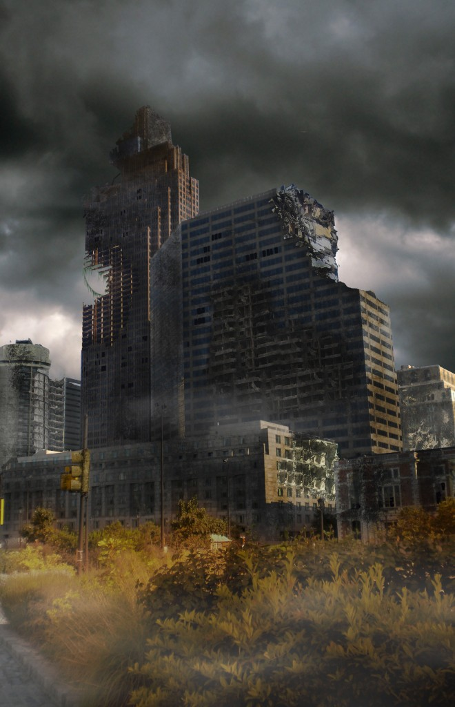Create a Destroyed City Scene using Photoshop
