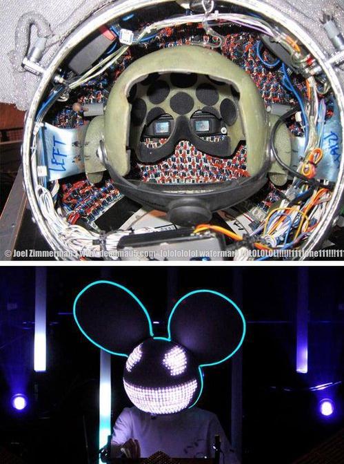 Deadmau5's helmet