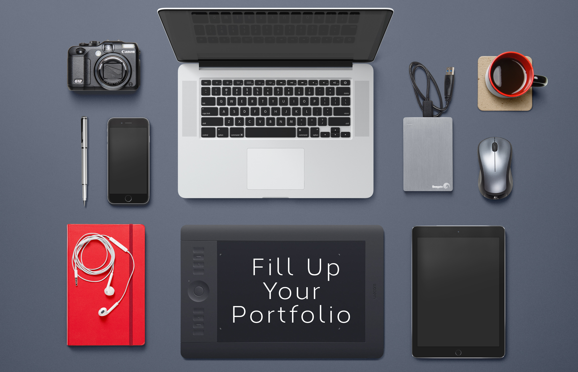 fill up your portfolio - Portfolio Design Ideas