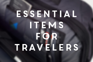items for travelers