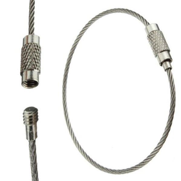 MECO Cable Key Ring