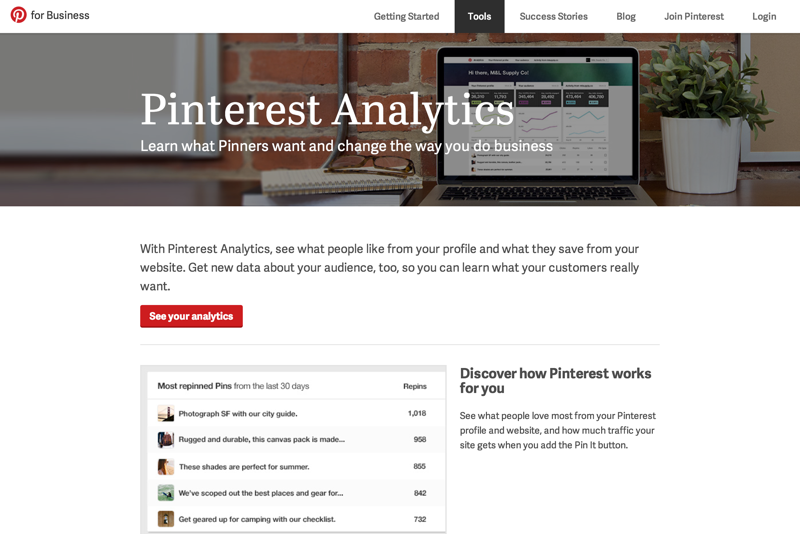 Pinterest Analytics | Pinterest for Business (20141226)