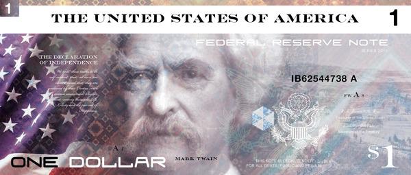 Reimagining US currency by John Koenig