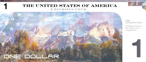 Reimagining US currency by John Koenig1