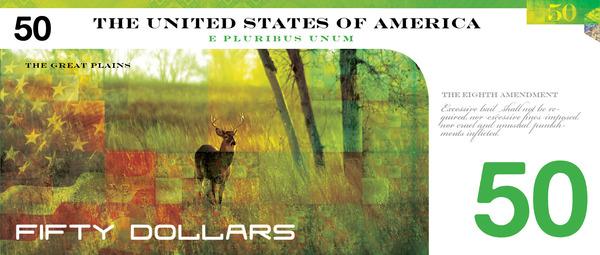 Reimagining US currency by John Koenig9