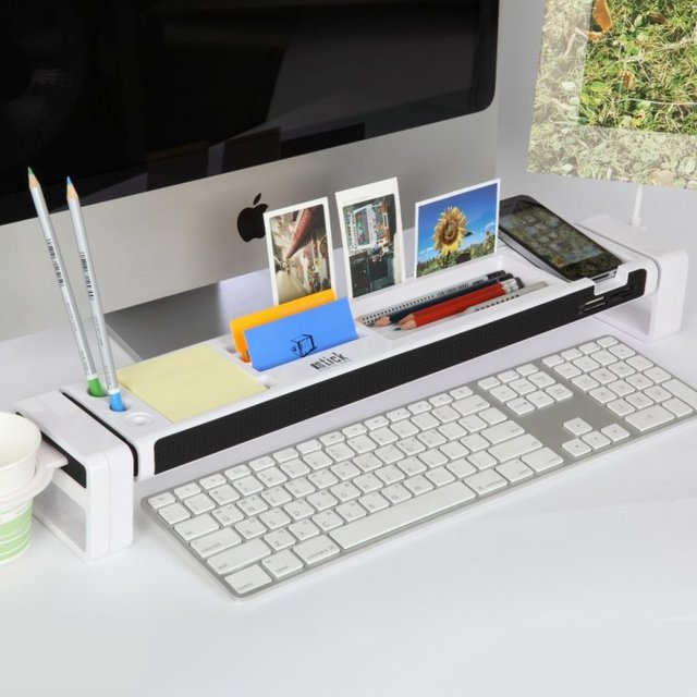 Satechi iDesk Desk Organizer Smartphone Holder Card Reader