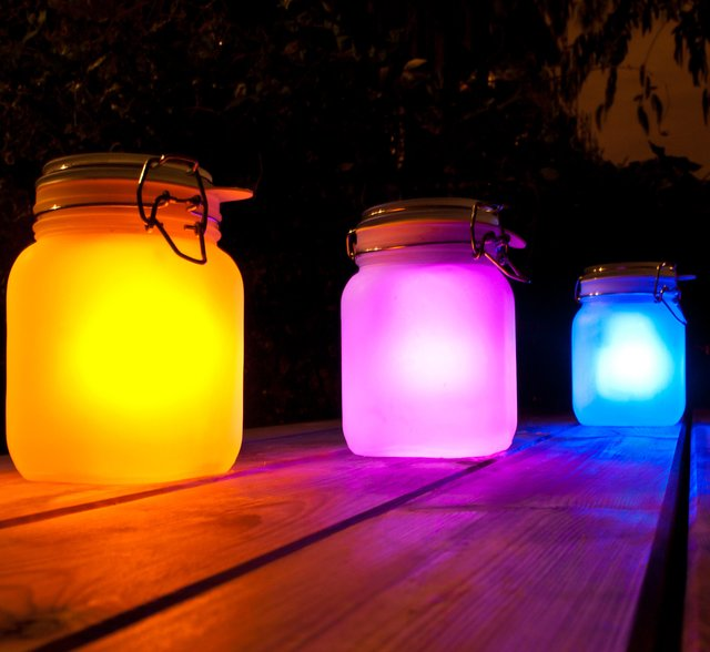 Solar Light Jar