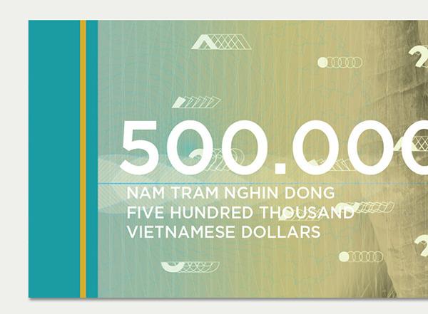 Vietnamese Dong Concept by Brigitte La1