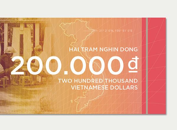 Vietnamese Dong Concept by Brigitte La3