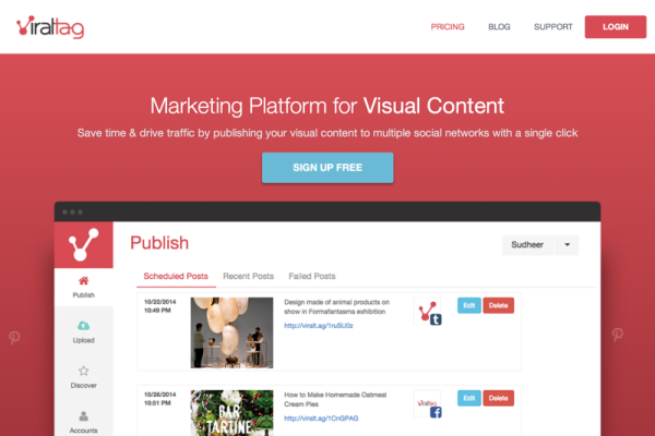 Viraltag | Pinterest Marketing & Management Tool for Brands, Businesses & Bloggers (20141226)