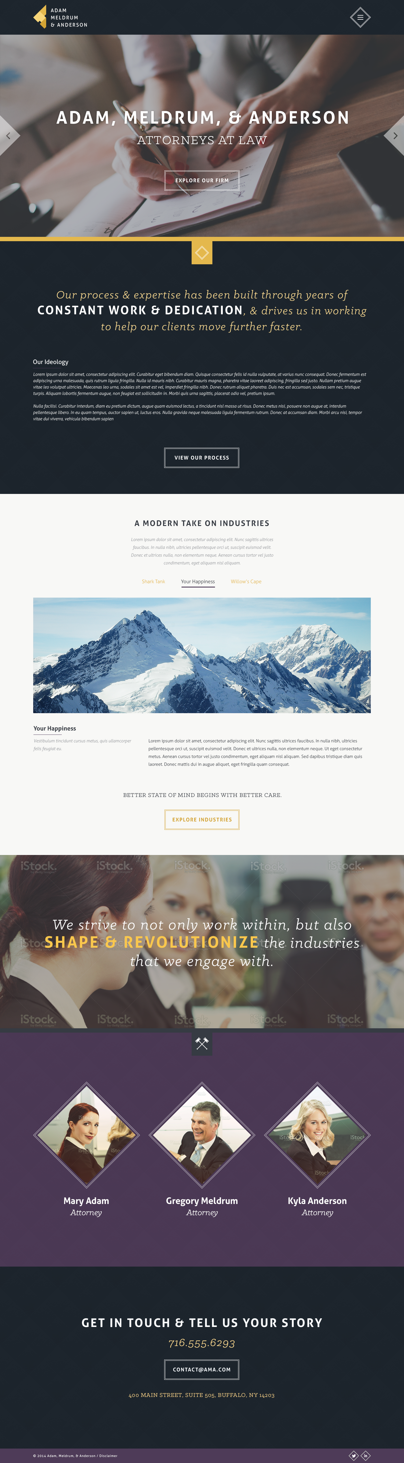 25 Classy Law Firm Website Designs