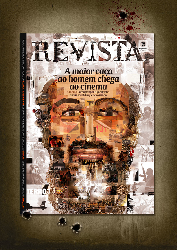 Bin Laden Mosaic cover by Helder Oliveira