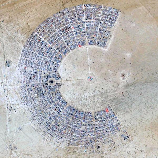 Burning Man Black Rock City, Black Rock Desert, Nevada, USA