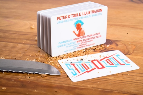 Business Card by Harry Bugg