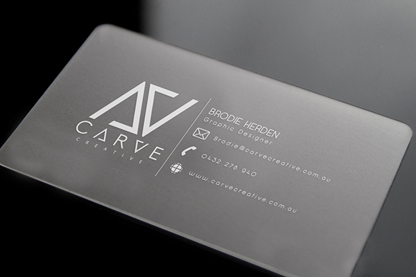 carve creative business card by brodie herden - Business Card Design Inspiration