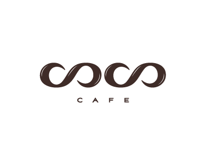 COCO cafe logo by Jan Zabransky