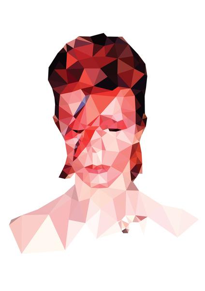 David Bowie by VIVA LA GRAPH!