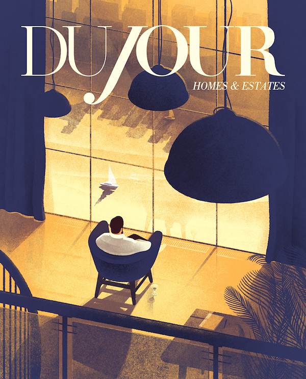DuJour magazine cover by Karolis Strautniekas