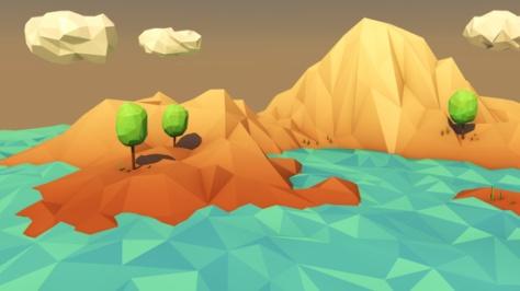 Low Poly Landscape by ERROR23