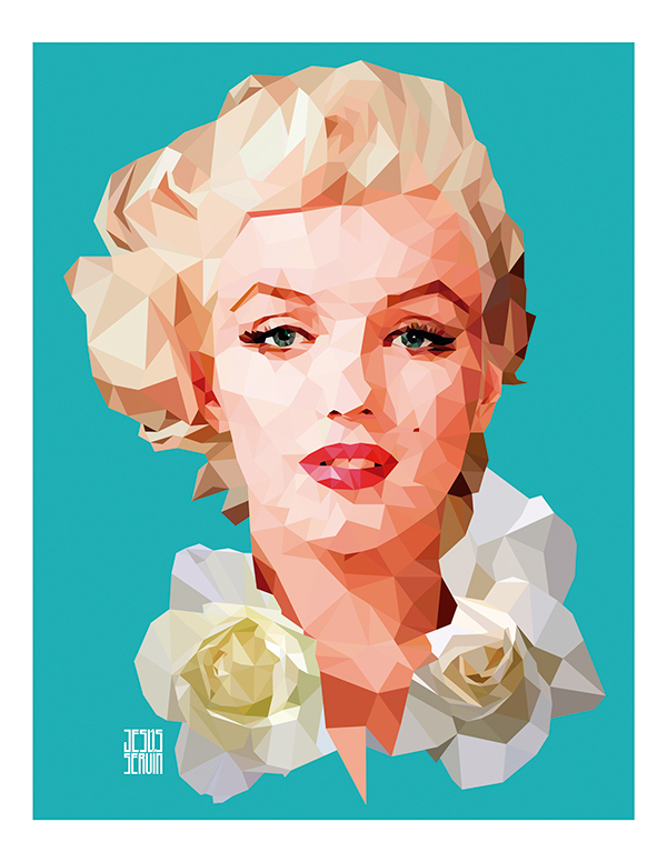 Marilyn Monroe by Jesus Servin