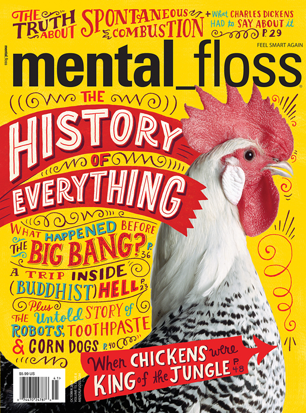 Mental Floss Cover by Mary Kate McDevitt