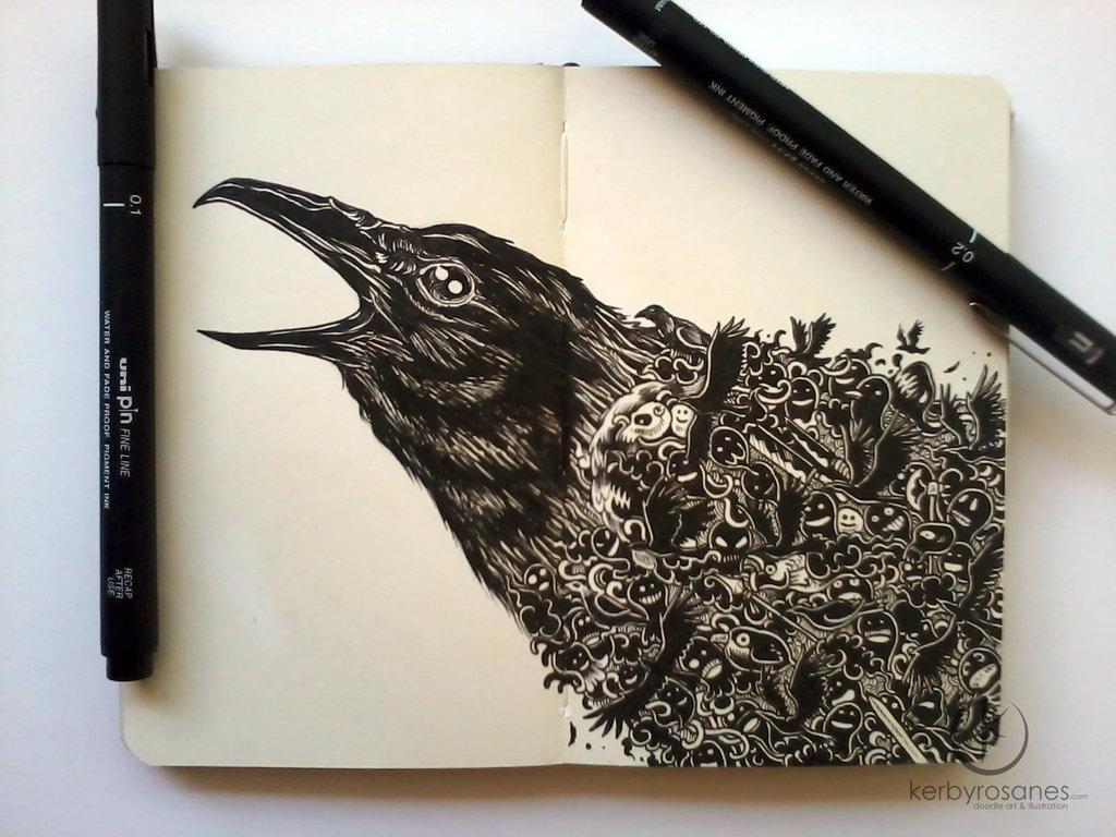 moleskine_doodles__crowded_by_kerbyrosanes-d68hcrw