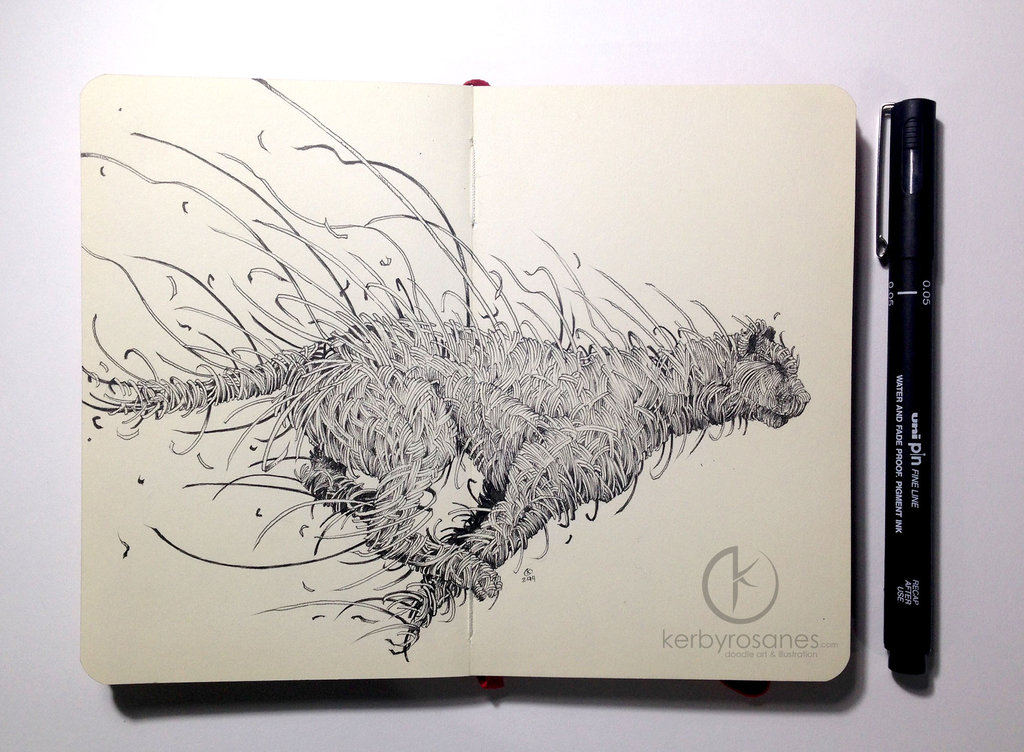 moleskine_doodles__strings_by_kerbyrosanes-d896dh5