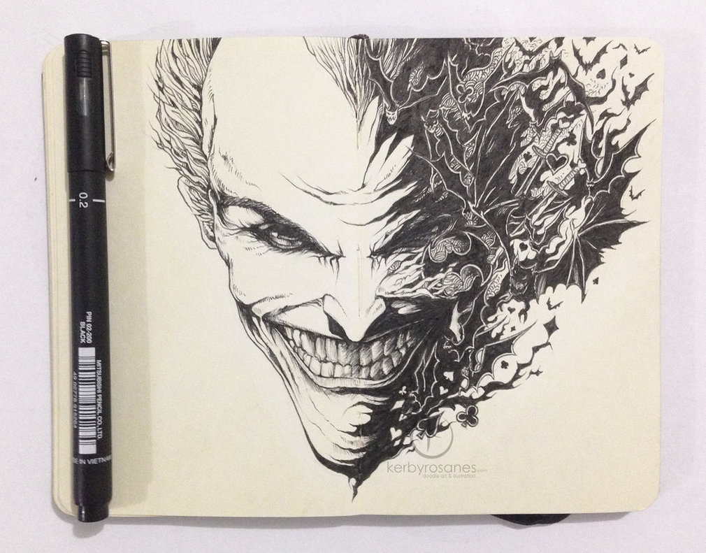Highly Detailed Doodle Art By Kerby Rosanes Inspirationfeed
