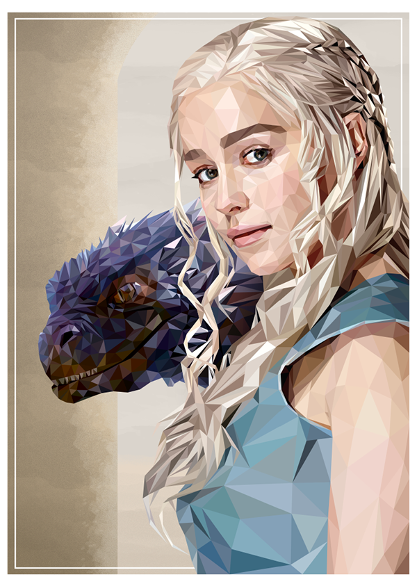 Mother of Dragons by Simon Delart