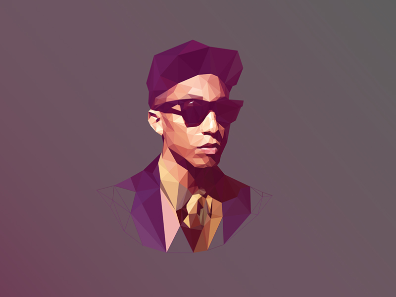 Pharrell Williams by Breno Bitencourt