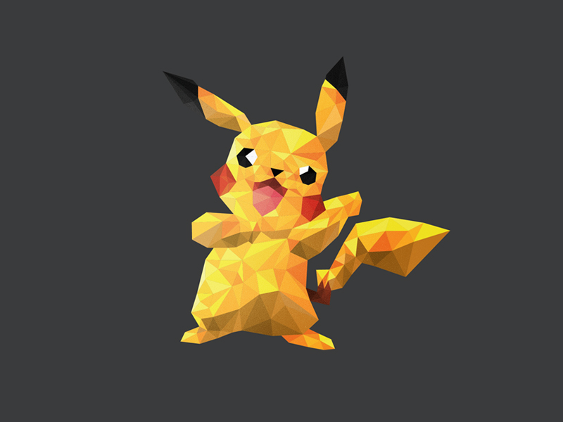 Pikachu Polymon by Breno Bitencourt Following