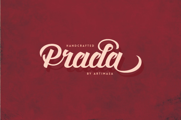 Prada Script Typeface