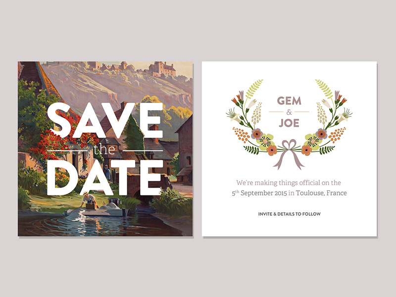 Save The Date by Gemma Power