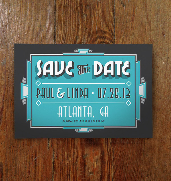 Save The Date Deco