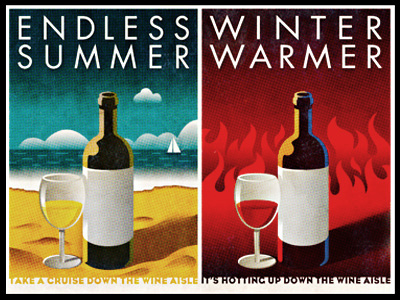 Seasons of Wine by Simon Frouws Design