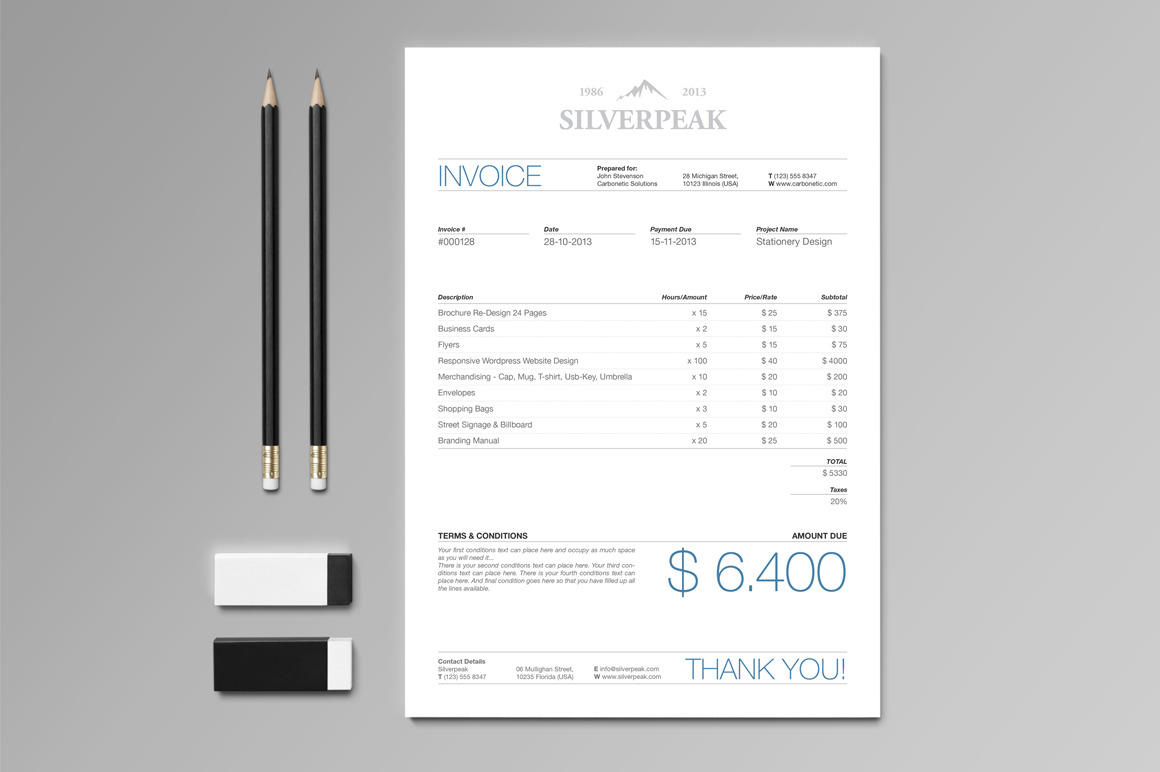 Silverpeak Invoice by Andre28